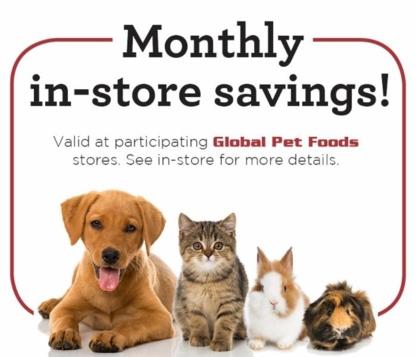 Global Pet Foods Edgemont - Magasins d'accessoires et de nourriture pour animaux - 403-454-7387
