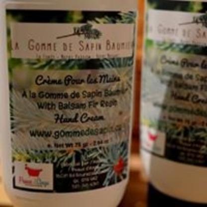 G.gommes de sapin.Qc et fils - Boutiques de cadeaux - 581-986-9651