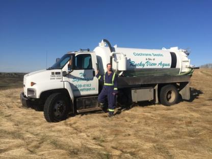 A Rockyview Aqua Ltd - Nettoyage de fosses septiques