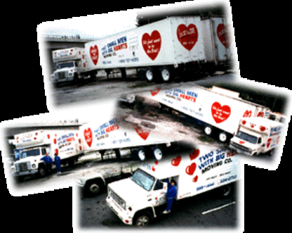 Two Small Men With Big Hearts Moving Winnipeg - Heavy Hauling Movers - 204-694-3278