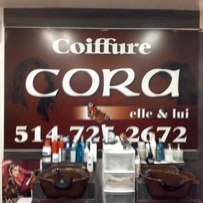 Coiffure Cora - Salons de coiffure et de beauté - 514-725-2672