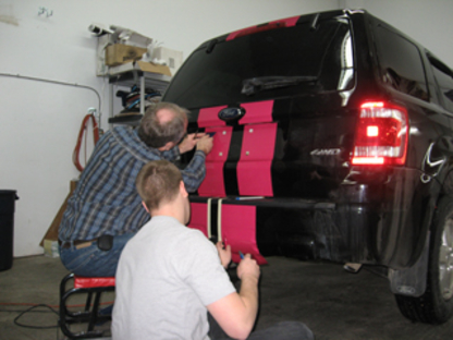 All Mobile Autographics & Signs - Window Tinting & Coating