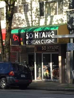 So Hyang Korean Cuisine - Korean Restaurants