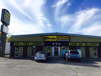 Surplus Furniture & Mattress Warehouse - Magasins de meubles