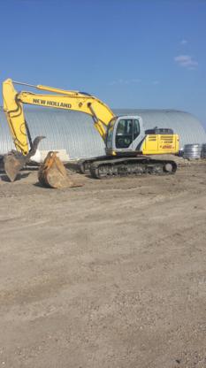 Badger Excavating - Entrepreneurs en canalisations d'égout - 204-662-4573