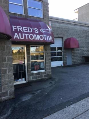 Fred's Automotive Ltd - Réparation et entretien d'auto - 604-325-1115