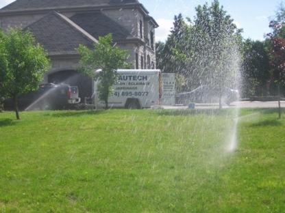 Eautech Irrigation Éclairage - Irrigation Systems & Equipment - 514-895-8077