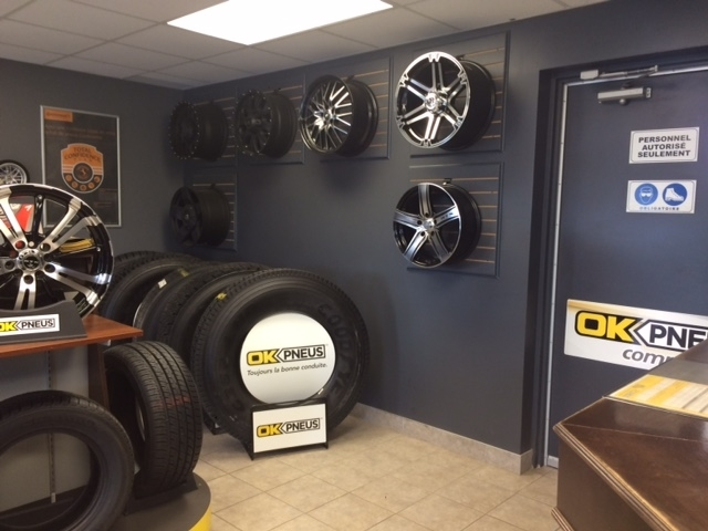 OK Pneus Commercial - Tire Retailers