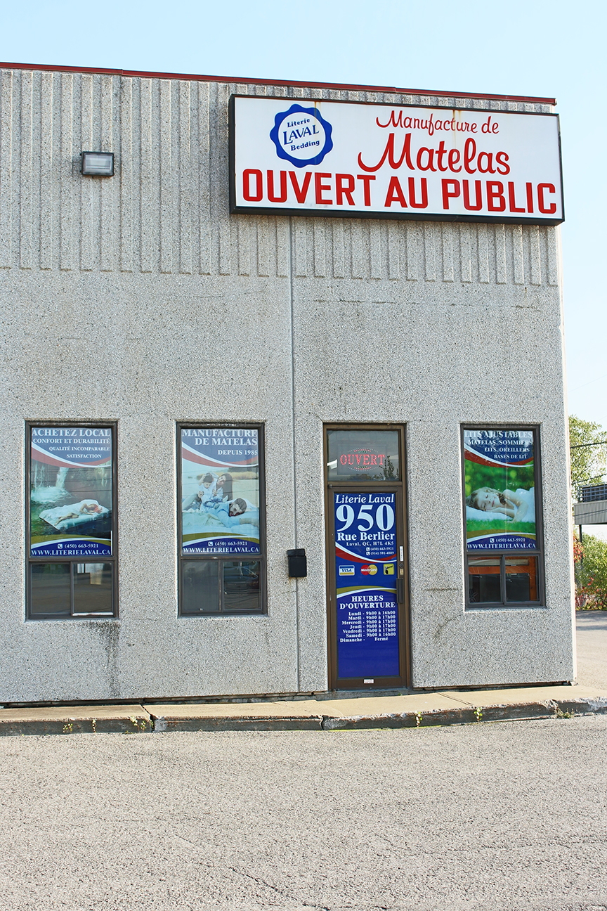 Literie Laval   Opening Hours   950 rue Berlier, Laval, QC