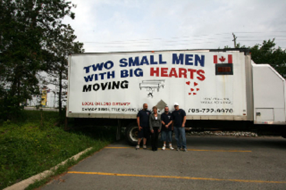 Two Small Men With Big Hearts Moving - Moving Services & Storage Facilities - 613-968-9097