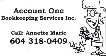 Account One Bookkeeping Services Inc - Bookkeeping Software & Accounting Systems