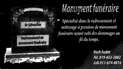 Voir le profil de Monument Funéraire Rock Audet - Saint-Bernard