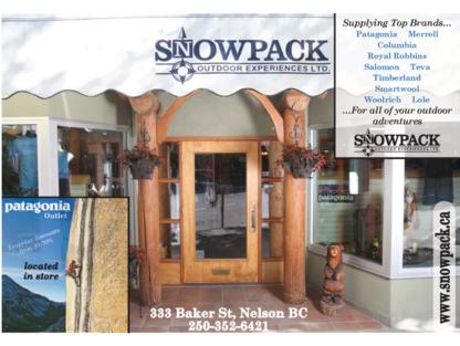 Snowpack Outdoor Experience Ltd - Accessoires de voyages - 250-352-6411