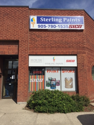 Sterling Paints Inc - Paint Stores - 905-790-1535