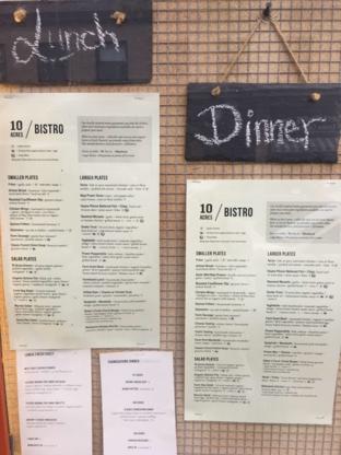 10 Acres - Restaurants