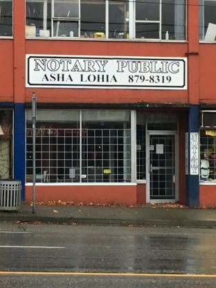 Lohia Asha - Notaries Public