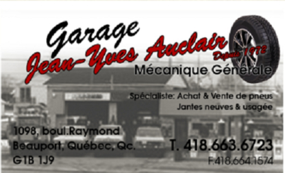 Garage Jean-Yves Auclair (1987) Enr - Truck Repair & Service - 418-663-6723