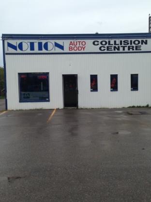 Notion Auto Body Ltd - Garages de réparation d'auto - 905-427-2665