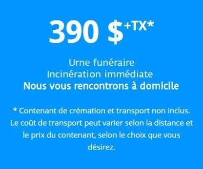 Centre d'Incinération Québec - Salons funéraires - 418-688-0505