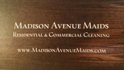Madison Avenue Maids - Maid & Butler Service - 204-612-0495