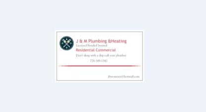 J & M Plumbing & Heating - Plumbers & Plumbing Contractors