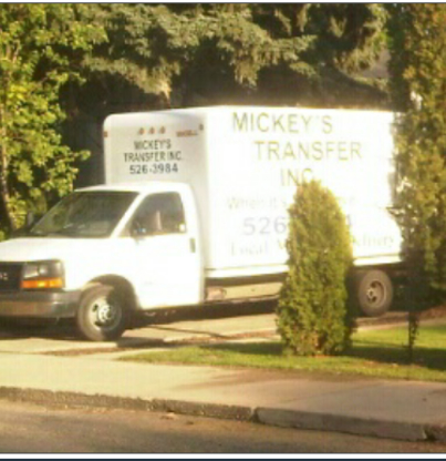 Mickey's Transfer Inc - Moving Services & Storage Facilities - 403-526-3984