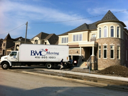 BMC Moving Inc - Moving Services & Storage Facilities - 416-805-1003