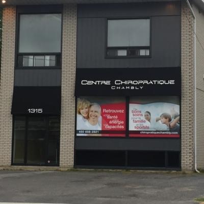 Centre Chiropratique Chambly - Chiropractors DC - 450-658-2821
