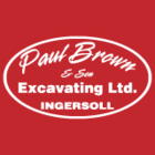 Paul Brown & Son Excavating Ltd - Logo