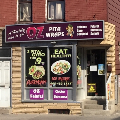 OZ Pita Wraps - Steakhouses - 905-432-1777