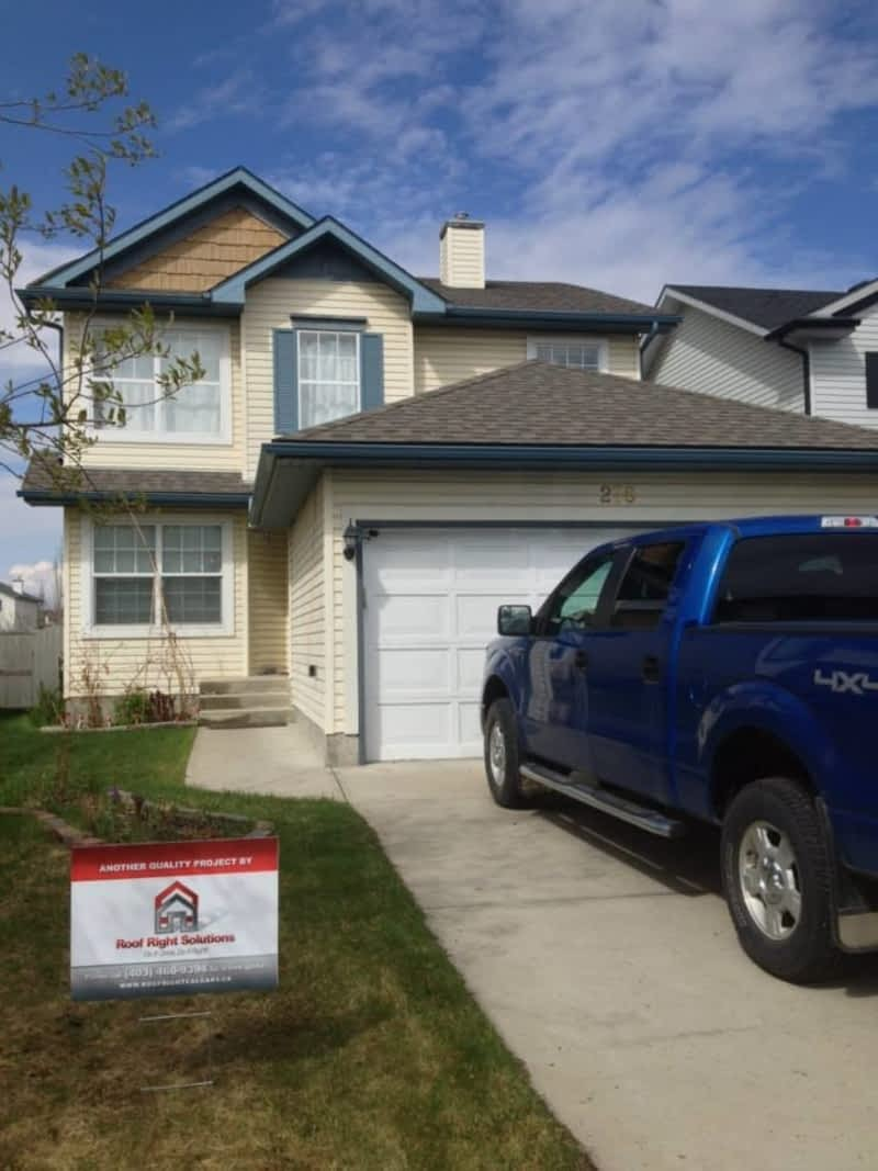 Roof right solutions inc calgary ab po box 91046 rpo for Roof right