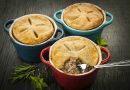 Savoury meat pies in Toronto