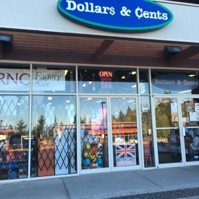 Dollars & Cents - Magasins de rabais - 604-474-1000