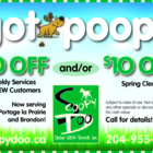 Scoopy Doo Canine Waste Removal - Pet Care Services - 204-955-5406