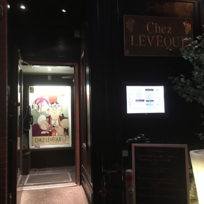 View Chez Lévêque's Montréal profile