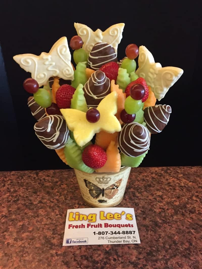 Ling Lee\'s Fresh Fruit Bouquets - Thunder Bay, ON - 276 Cumberland ...