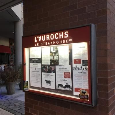 L'Aurochs - Steakhouses