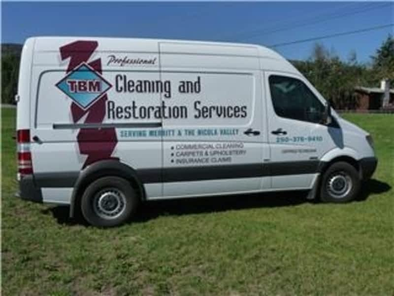 T B M Cleaning amp Restoration Services Merritt BC 1721 Hill St Canpages