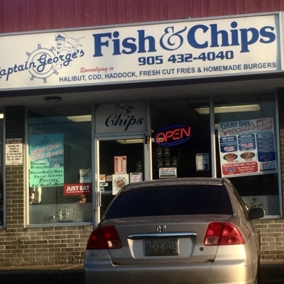 Captain Georges Fish & Chips - Fish & Chips - 905-432-4040
