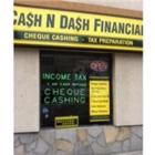Cash N Dash Financial - Tax Return Preparation - 905-720-0786