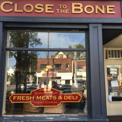 Close To The Bone - Butcher Shops - 416-699-2663