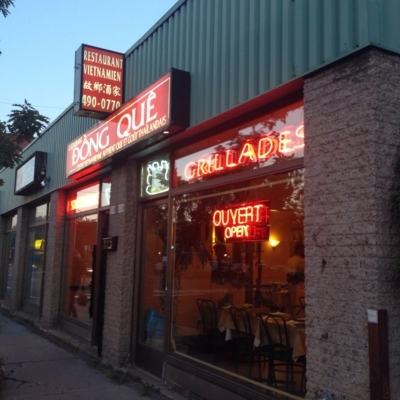 Restaurant Dong Que Canada - Restaurants - 514-490-0770