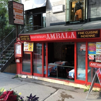 Restaurant Ambala - Asian Restaurants - 514-499-0446
