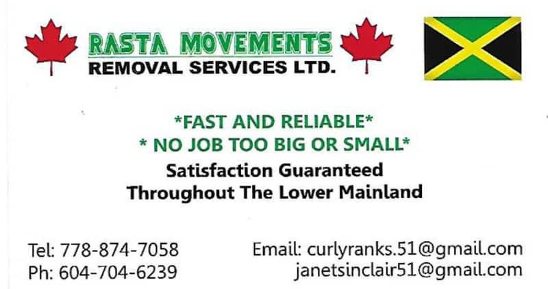 photo Rasta Movement Removal Services Ltd