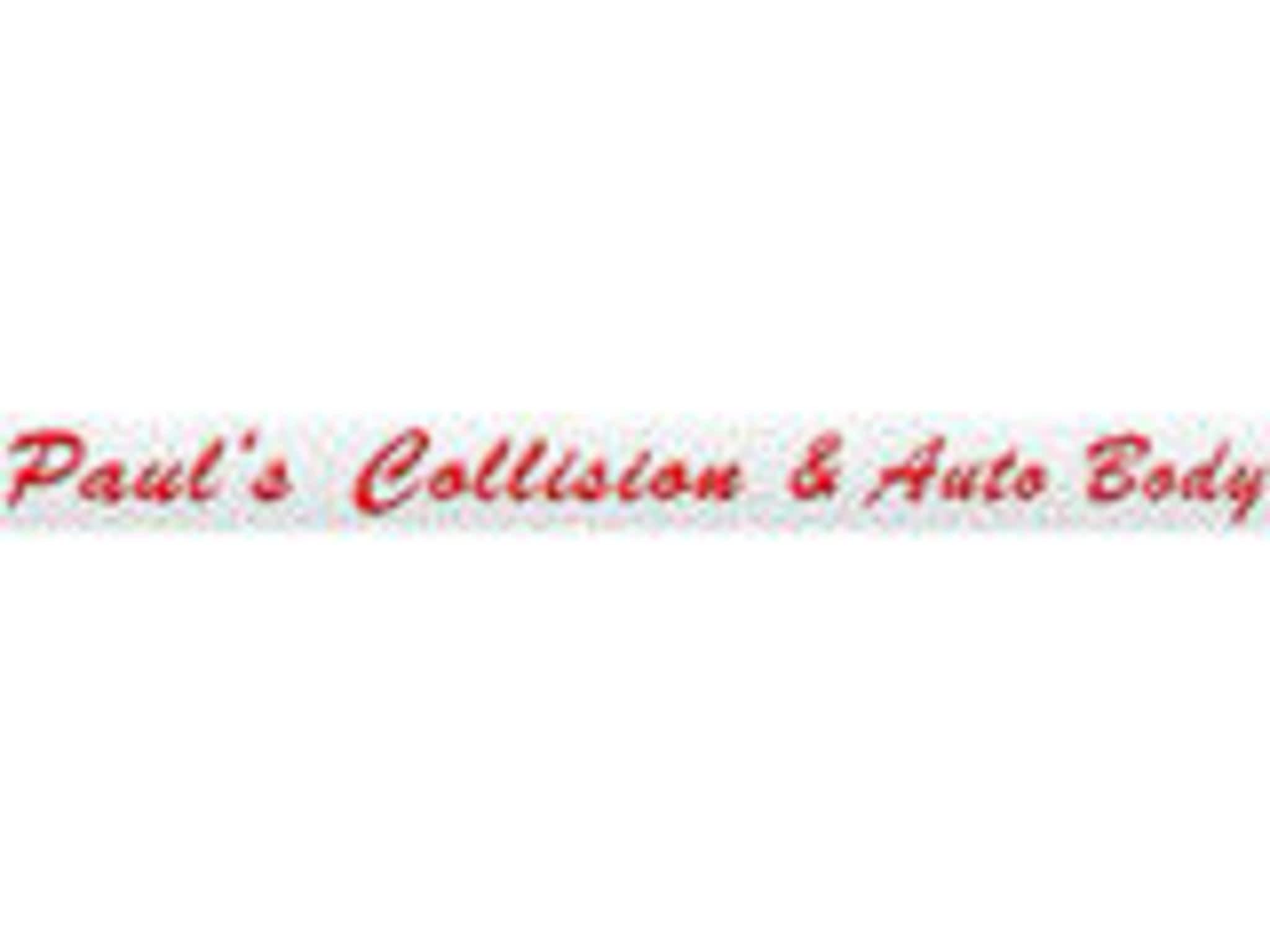 photo Paul's Collision & Auto Body