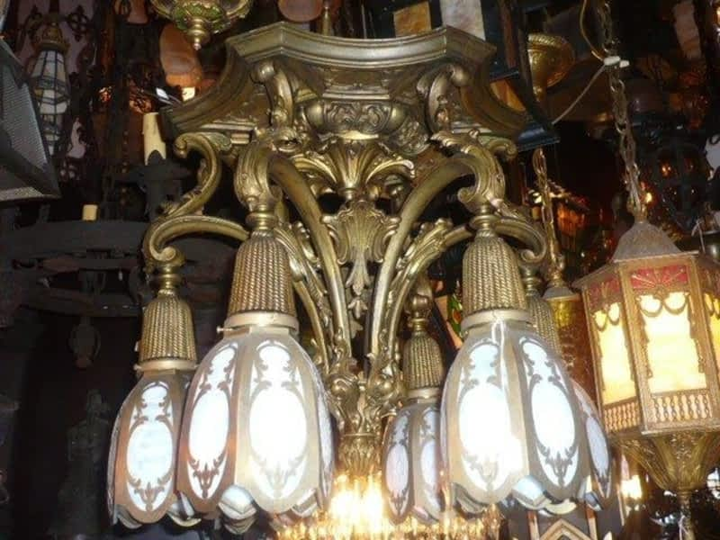 photo Antique Lighting by Victorian Revival