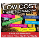 Low Cost Rubbish Removal - Bulky, Commercial & Industrial Waste Removal