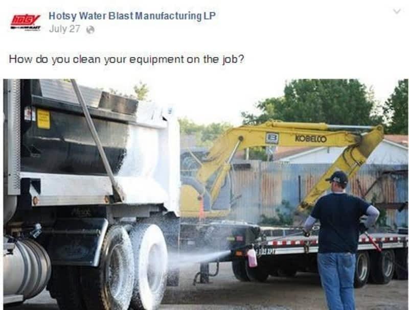 photo Hotsy Water Blast