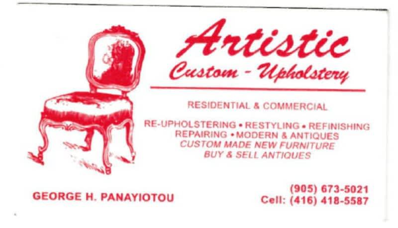 photo Artistic Custom Upholstery Residential & Commercial
