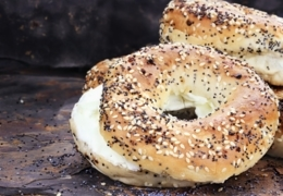 Find yummy bagels in Victoria
